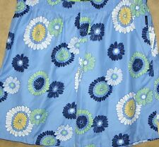 Alex Cannon Bathing suit Mens XL Blue Floral Swim Suit Board Shorts Trunks New