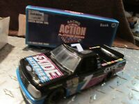 #7  ford f150 race geoff bodine  action 1/24  truck bank  heavy diecast bank