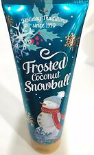Bath & Body Works Frosted Coconut Snowball fragrance Body Cream lotion HOLIDAY