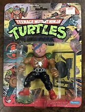 Vintage TMNT Bebop 10-Back 1988 Pink Face Teenage Mutant Ninja Turtles New Rare