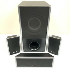 Sony Surround Sound Speaker System 4pcs SS-WS82 SS-CT80 SS-TS80 (2)- Tested