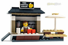 LEGO® City Coffeeshop Kaffee Stand Laden Coffee Chain aus Set 60097 Stadtzentrum