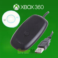 For xbox 360 receiver USB Black PC Wireless Controller Gaming Receiver Adapter