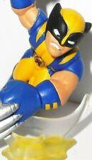 Marvel Universe Super Hero Squad WOLVERINE yellow series 18 2010 legends x-men