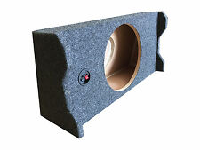 Subwoofer Sub Box for 2015 Ford F150 Super Crew Cab Supercrew Truck Single 10""