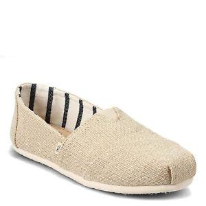 TOMS Women's Natural Heritage Canvas Classic Alpargata Slip On Shoes