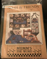 DEBBIE MUMM'S THE WORD QUILT PATTERN NOAH & FRIENDS
