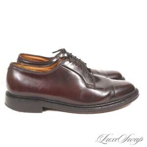 #1 MENSWEAR Vintage Florsheim Imperial 627294 Shell Cordovan PTB Shoes 11 EEE NR