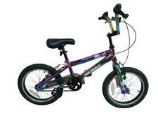 "NEW* XN Beast 16"" Freestyle BMX Bike Kids Boys Girls Stunt Bicycle Neo-Chrome"