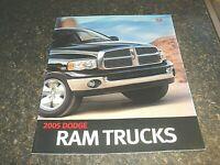 2005 Dodge Ram 1500 2500 3500 Truck Pickup Original Dealers Brochure Book Manual