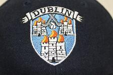 Dublin Ireland blue hat bill folds