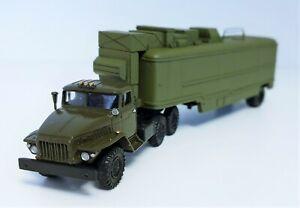 """Ural-375D mit Kontrollraum """"Sinezh"""" (1:87)"""