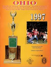 1997 OHIO HIGH SCHOOL FOOTBALL STATE CHAMPIONSHIP PROGRAM       STATE SEMIFINALS
