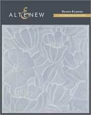 Alteflowers & Leaves 3d Embossing Folder