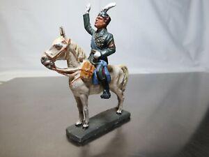 Elastolin General zu Pferd 7cm Serie Mussolini SammlerstückeLot:LW/16/6931/14