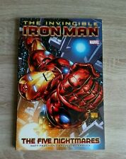 The Invincible Iron Man Modern Marvel Graphic Novel The Five Nightmares (2009)