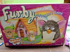 Furby Adventure Game - Board Game - 1999 - Hasbro Milton Bradley COMPLETE