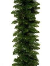 NUOVO CANADESE Verde Pino Ghirlanda Decorazione Di Natale 2.7 m di lunghezza x 30 cm artificiale