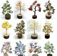 Assorted Lot Stone Tree Spiritual Vastu Feng Shui Reiki Gemstones Table Decor