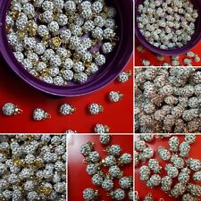 New white/sliver or white/gold SHAMBELLA CRYSTAL buttons for outfits & dresses!