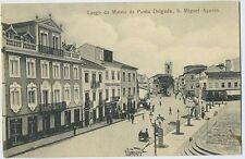 Ponta Delgada Sao Miguel Largo da Matriz Portugal AZORES Acores 1910s postcard