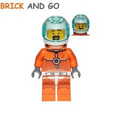 LEGO Minifigure CTY1034 Espace Astronaute, Space Astronaut Male NEUF NEW