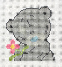 Anchor Cross Stitch Kit - Tatty Teddy Kits - Pink Flower
