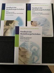 Handbuch der MuskelEnergieTechniken Muskel Energie Techniken Band 1 2 3 Mitchell