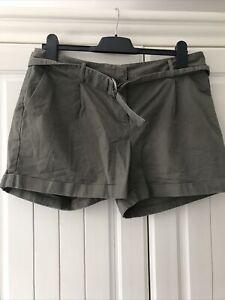 Oasis Size 14 Khaki Shorts