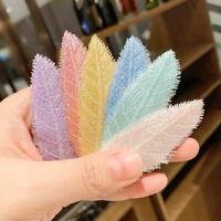 1PC Simple Leaf Hairpin for Women Hair Clip Hair Accessories Headdress