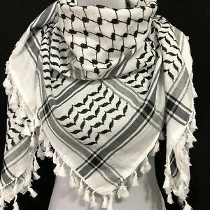 Shemagh Hirbawi Keffiyeh Arab Scarf Palestine Original Arafat Hatta Brand Cotton
