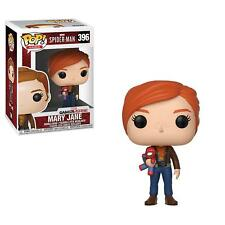 FUNKO POP! GAMES: MARVEL- SPIDER-MAN - MARY JANE W/ PLUSH 396 30682 VINYL FIGURE