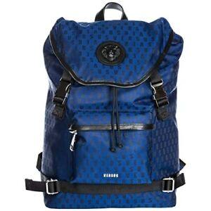 New Authentic Versus Versace Blue / Black Backpack Rucksack