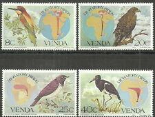Venda - Zugvögel Satz postfrisch 1983 Mi. 70-73