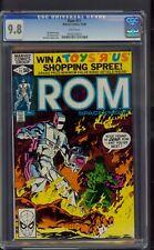 Rom #11 (1980) CGC Graded 9.8 Sal Buscema Art ~ Michael Golden Cover