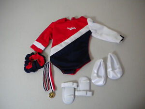 """USA Gymnastics Outfit fits Most 18"""" Dolls and American Girl Dolls"""