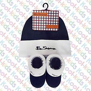 BNWTS Ben Sherman Baby Target White vest//hat set