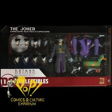 BATMAN Animated Series JOKER EXPRESSIONS Figure Box Set DC Comics COLLECTIBLES!