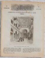 ALBUM DI ROMA 1855 CHIESA DEL BAMBIN GESU PERA PIETA