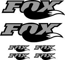 ROCK SHOX FORK fox Stickers Decals Mountain Bike Down Hill MTB #b0255