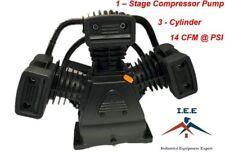 Bomba para Compresor de Aire-1 Etapa, 3 Cilindros, 14 CFM en 90 PSI