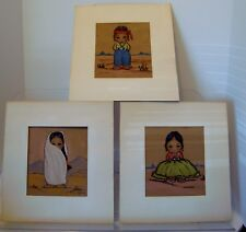 Christo Hersey  print 1960s eskimo/Native Set of Three(3)-c19