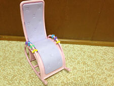 Barbie Doll Purple Pink Salon Chair Furniture