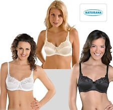 Naturana 87543 Firm Control Full Cup Underwired Bra 34 36 38 40 42 44 46 B-D