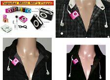 Extra Flache Media Player Mini Clip MP3 Player b.8GB Mikro SD Slot Pink 21