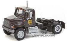 International 4900 Axle Semi Tractor UPS 1/87 HO Walthers 949-11193
