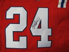 Autographed Darrelle Revis Red Throwback Nike Elite Jersey