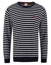 Carhartt Sweatshirt Herren Pullover - Robie - Navy Weiß gestreift - Gr. S - 2XL