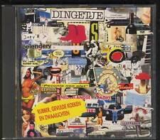 DINGETJE Rubber, Gevulde Koeken En Zwaailichten 1992 CD sung in dutch KAPLAARZEN