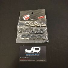10pcs. PASSWORD JDM Fender Washer kit. Fast shipping USA Seller! PWJDM (Black)